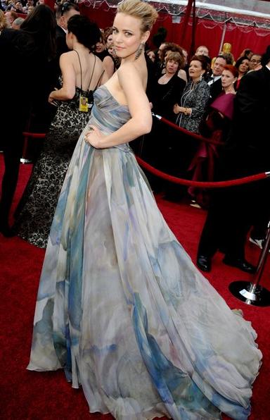 Rachel McAdams in Elle Saab