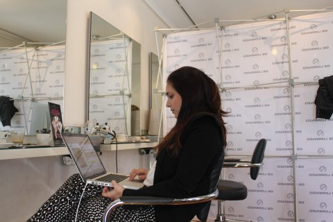 Behind the scenes - blogging