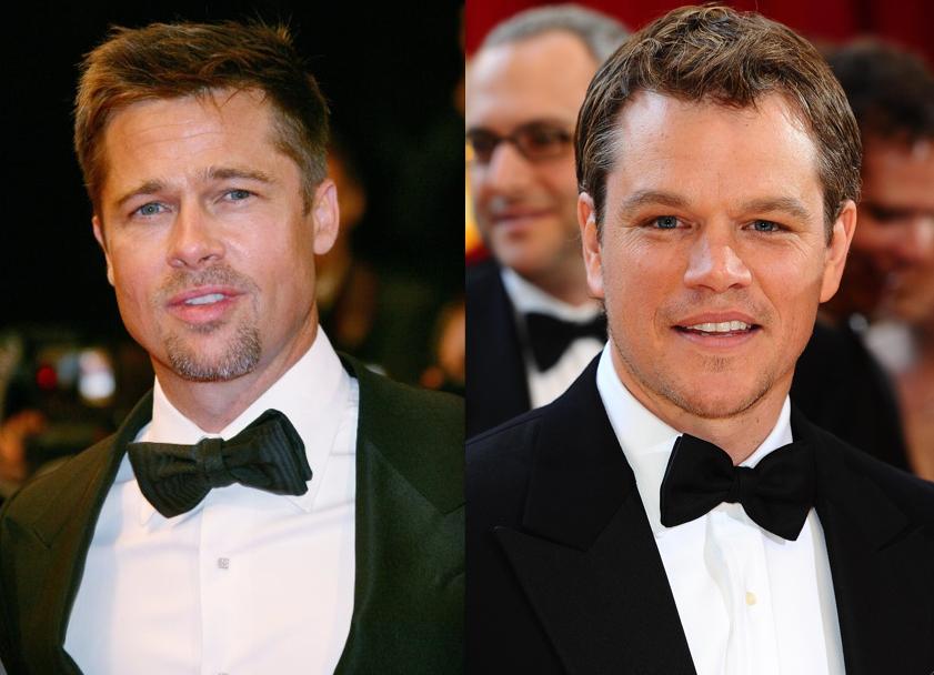 Brad Pitt & Matt Damon