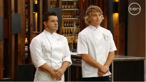 Patisse Chef Vincent vs. MasterChef contestant Hayden Quinn