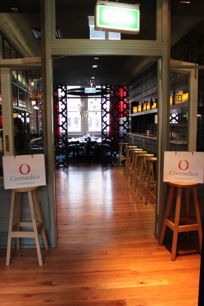 O Cosmedics Event was hosted at La Rosa in the Strand Arcarde
