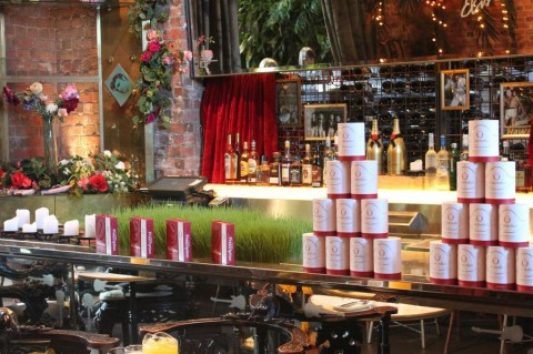 The Winery, adorned with O Biotics products